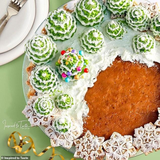 Liz Joy Christmas Celebration Pumpkin Pie