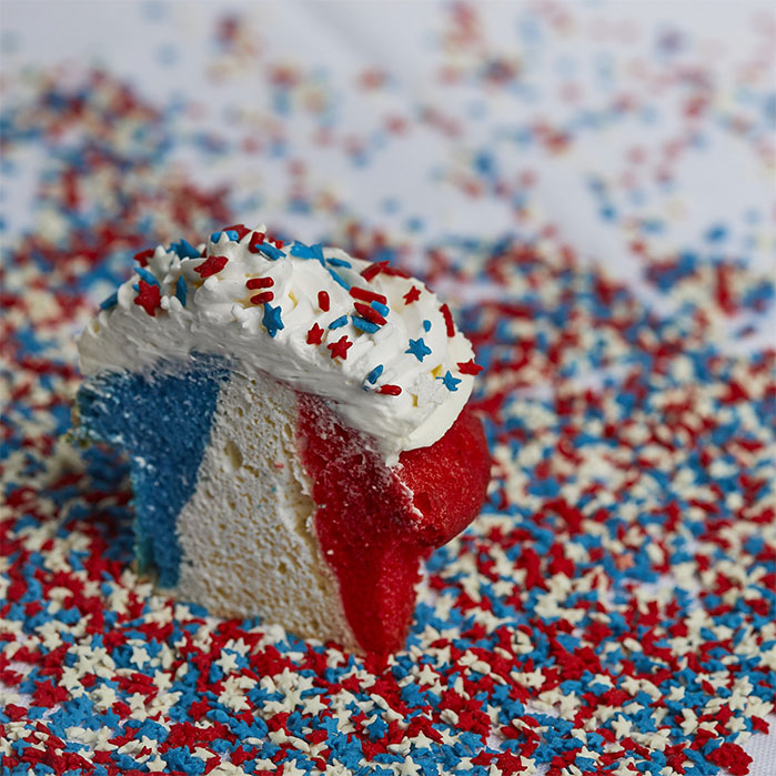 Red-White-Blue-Striped-Cupcake