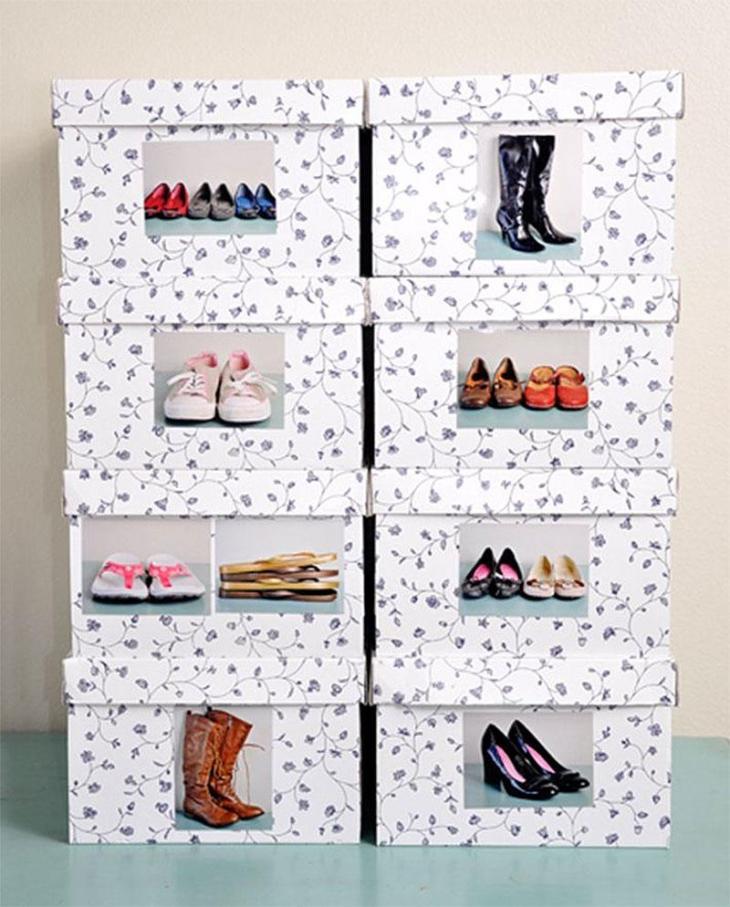 Shoe Picture Boxes
