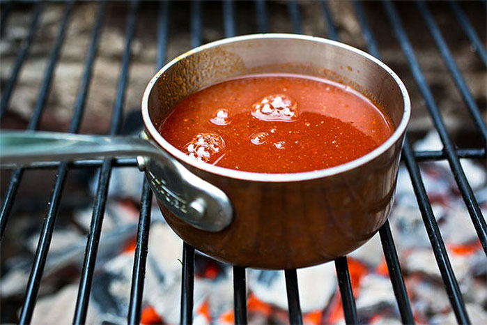 Simple Smoked Paprika Barbecue Sauce