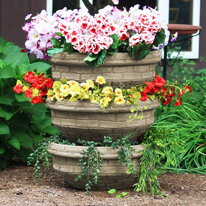 Stackable English Composting Garden