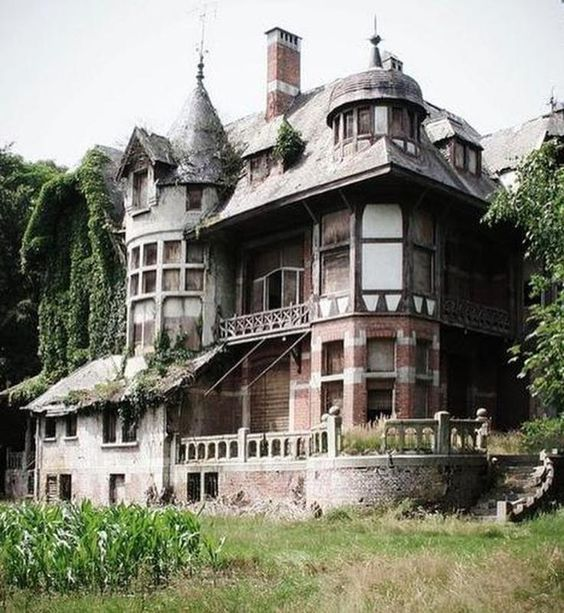Abandoned Country Manor