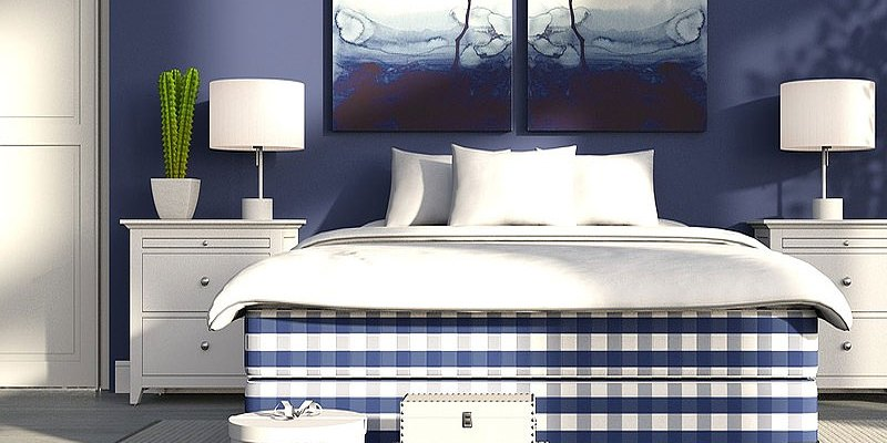 Beautiful Blue Bedrooms We Love