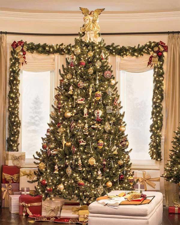 Glass Ornament Christmas Trees