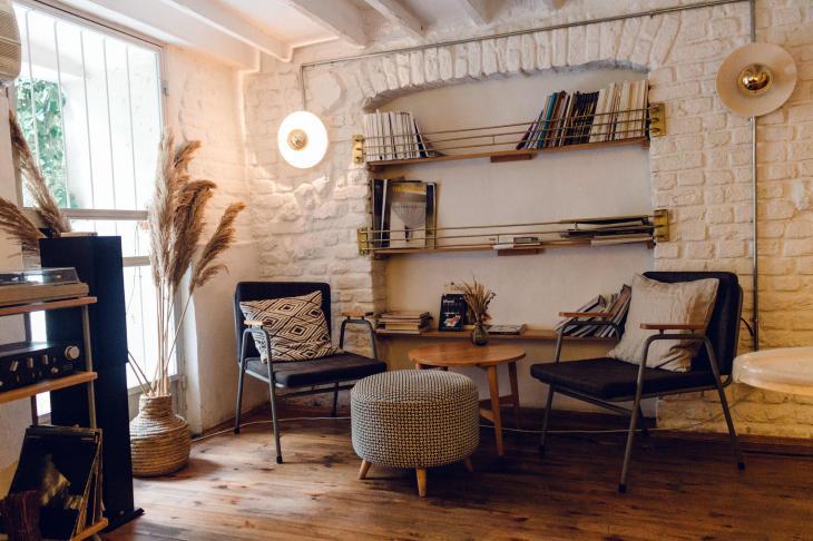 Building Shelves into a Brick Alcove
