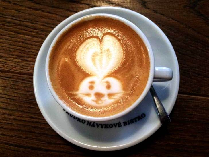 Bunny Latte Art