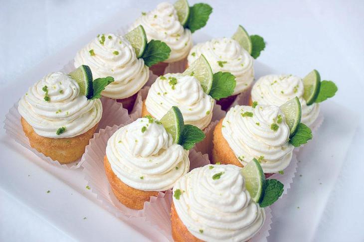 Brazilian Caipirinha Cupcakes
