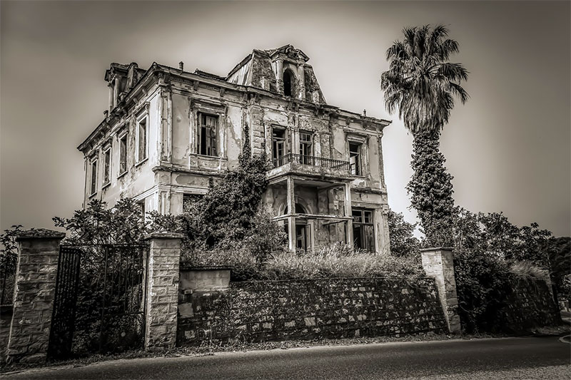 Creepy Abandoned Building
