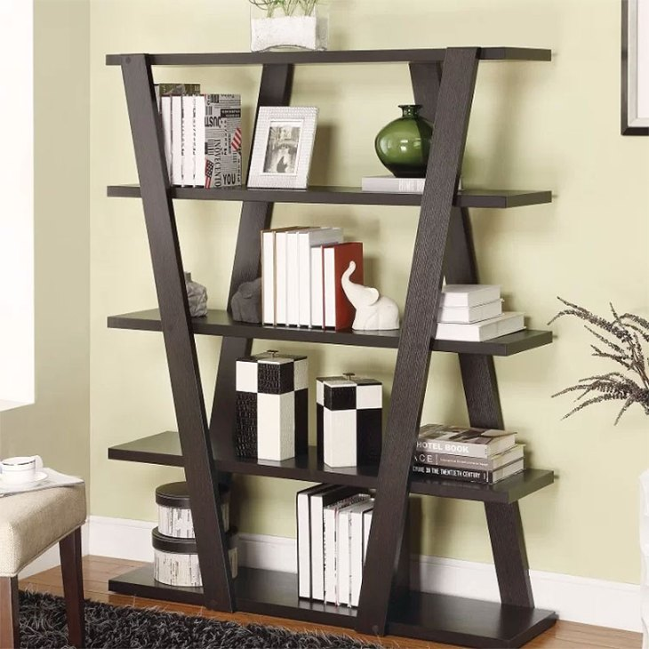 Czarnecki Inverted Support Bookcase