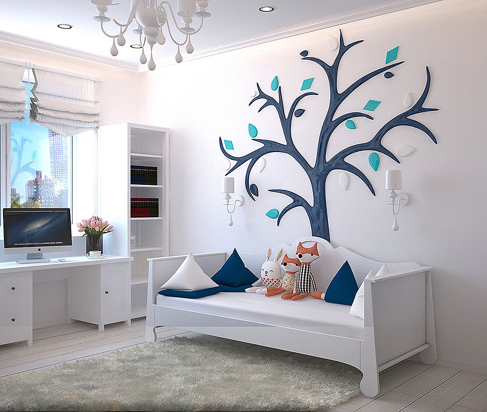 Playful Bedroom Decor
