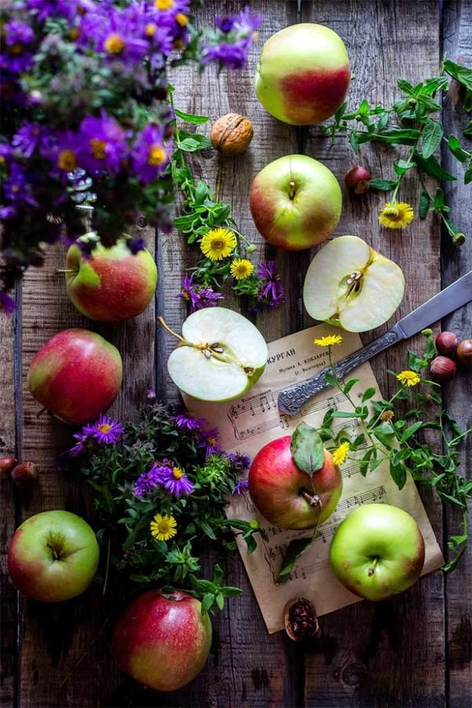 Edible DIY Apple Display