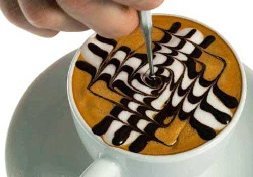 Geometric Latte Art