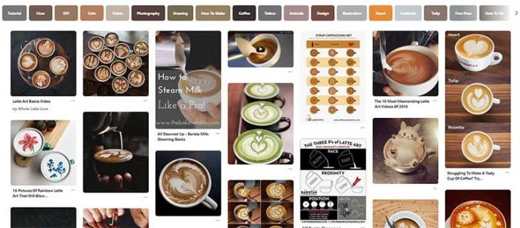 Latte Art on Pinterest