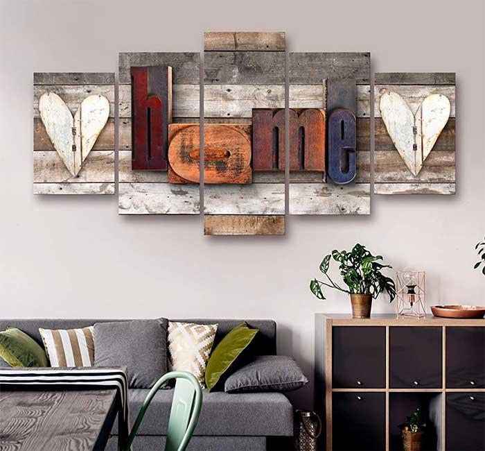 Loving Home Canvas Art Set