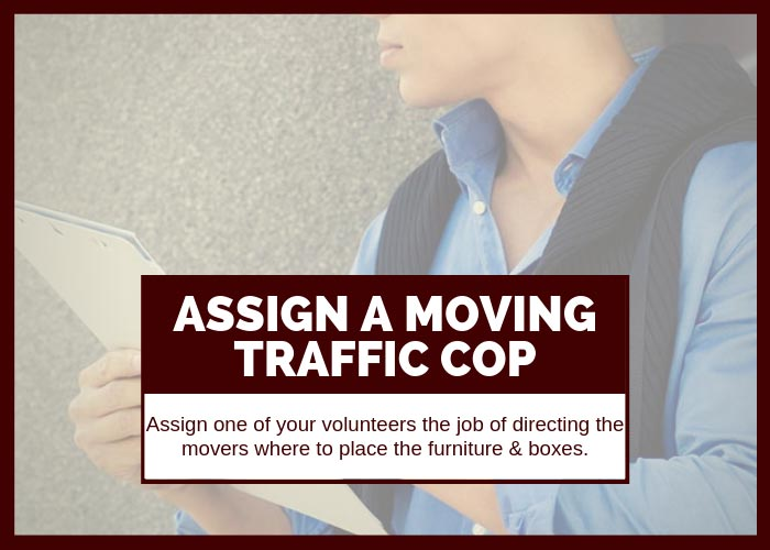 Moving Hack 9 Assign a Moving Traffic Cop