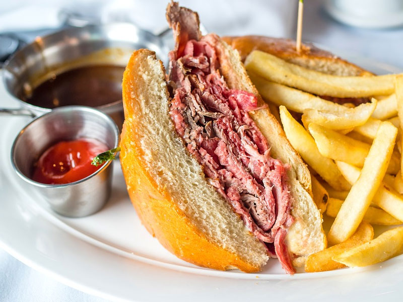 Quick & Easy Slow Cooked-Roast Beef Sandwiches