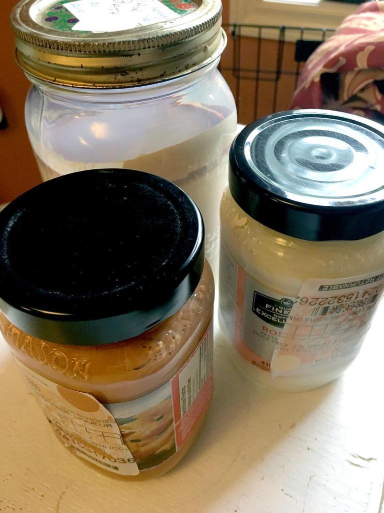 DIY Garage Hacks   Use Old Jars to Store Leftover Paint