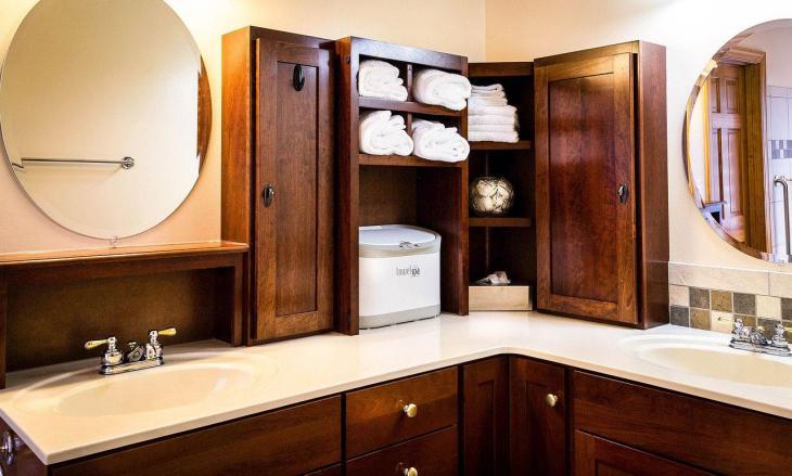 Unique Bathroom Storage Shelves