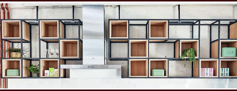 Unique Cube Shelves