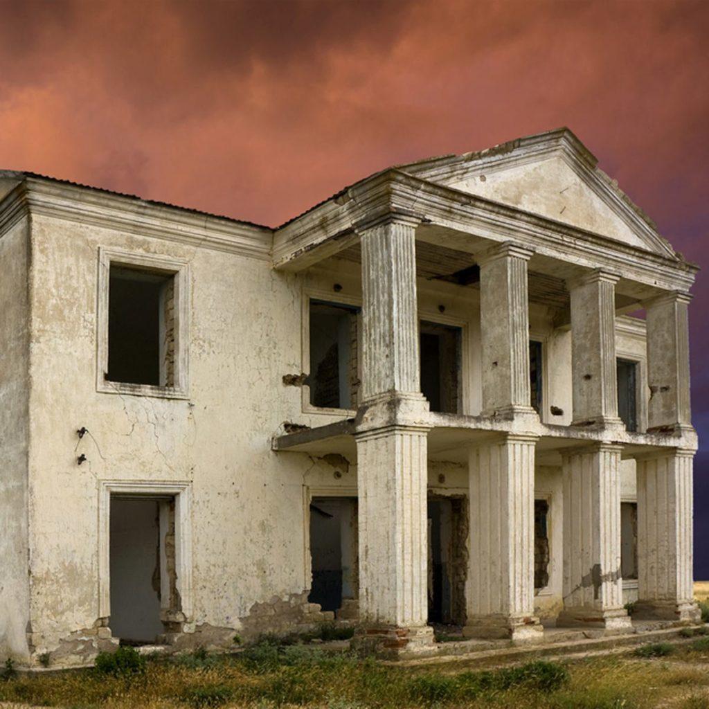 Abandoned Greek Revival Home