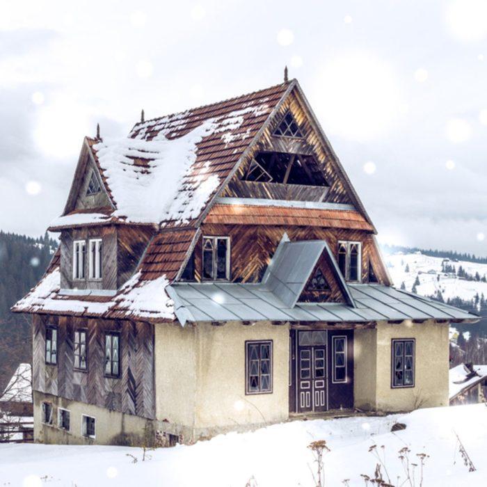 Abandoned Ski Chalet