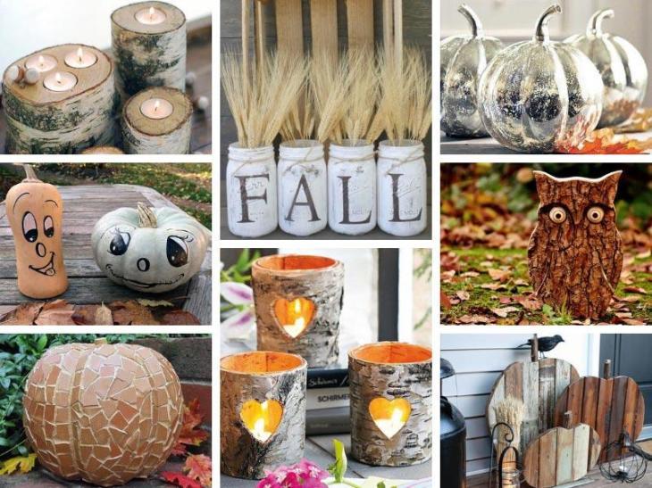 88 Awesome DIY Fall Decor Ideas for the Home & Garden