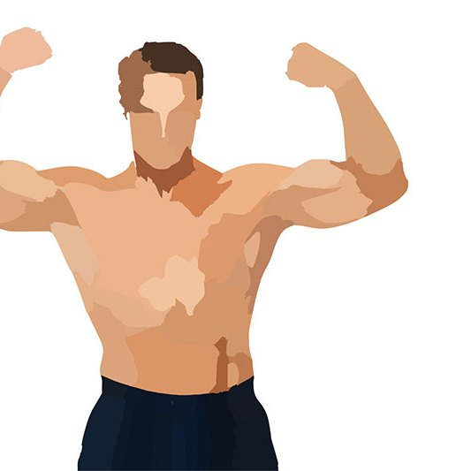 Body Builder Free Printable Fitness Art