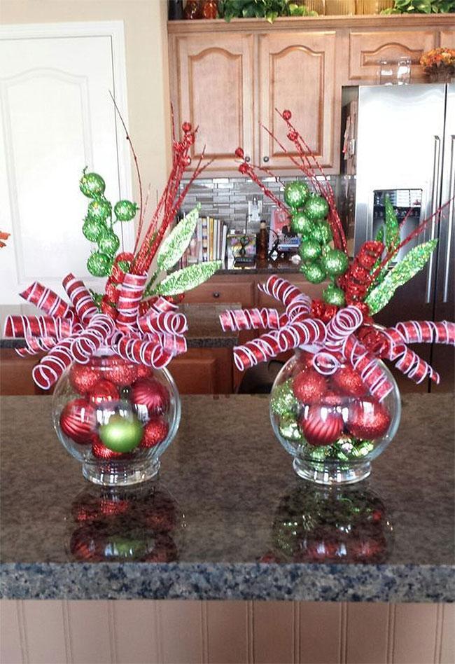 Christmas Celebration Vases | DIY Christmas Decorations