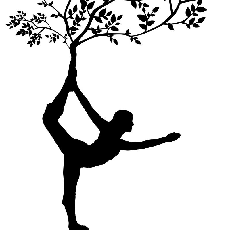 Female Yoga Tree Fitness Printable