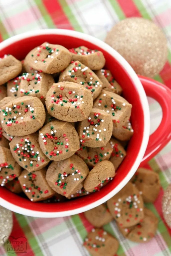 Gingerbread Cookie Bites