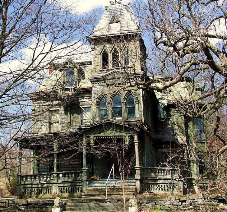 Webster Wagner Abandoned Mansion in  Palatine Bridge, New York