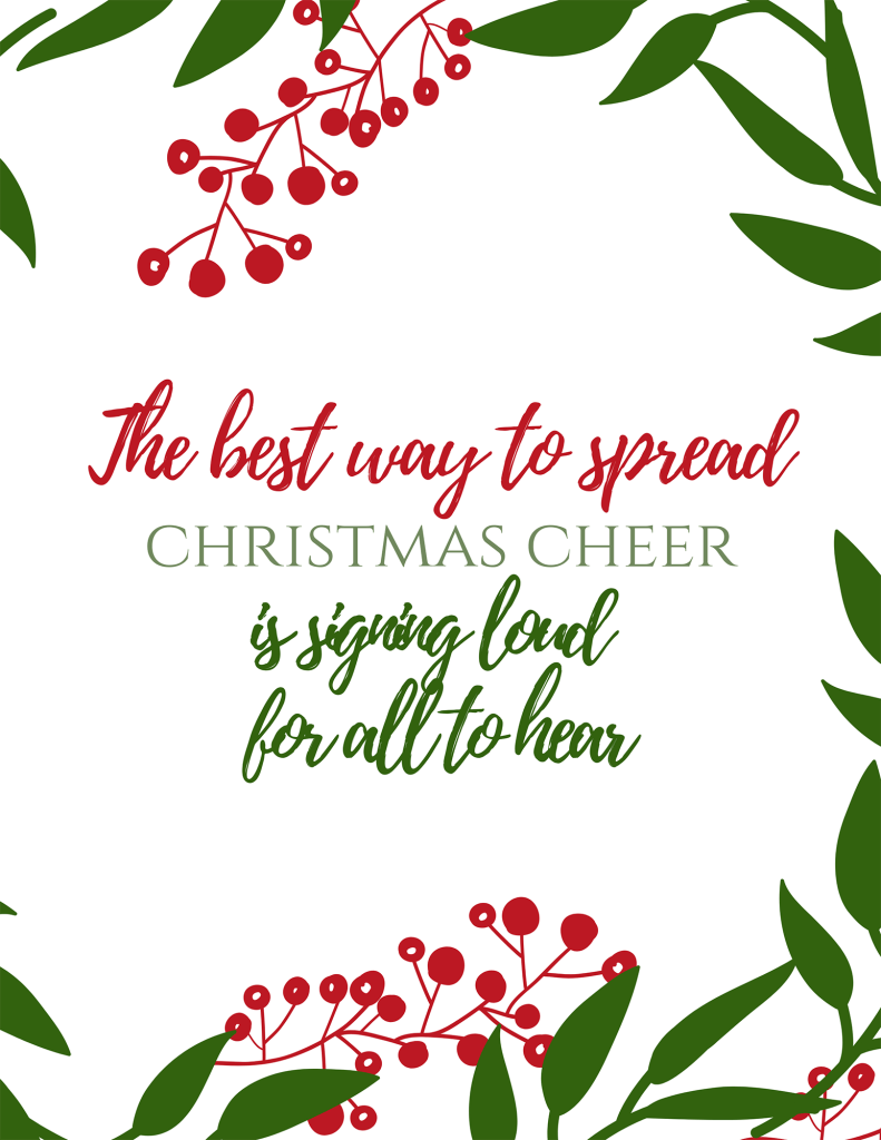 Elf Best Way to Spread Christmas Cheer Christmas Quote