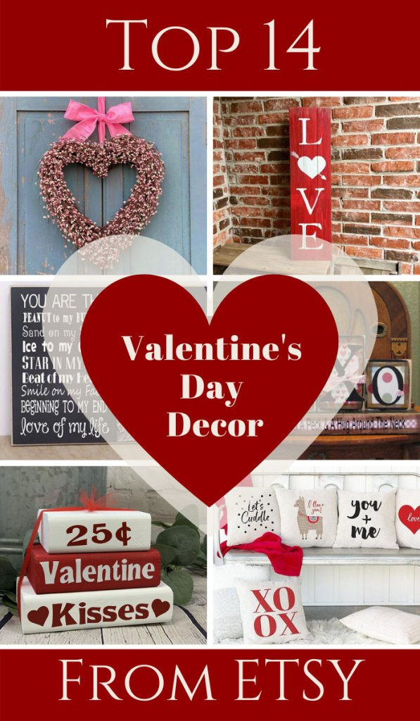 Top 14 Valentine's Day Decor Picks from Etsy