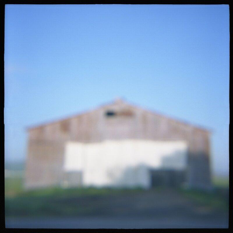 03 Barn Daniel Grant Toy Camera Photograph