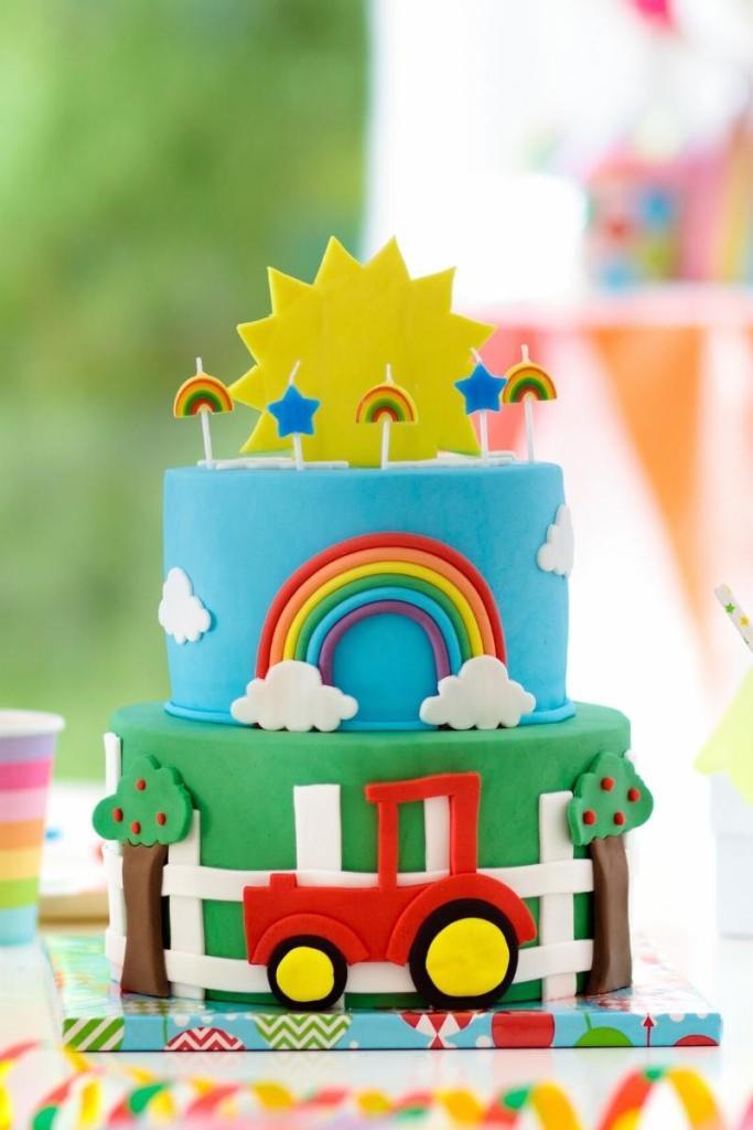Birthday Cake Ideas for Boys - Car