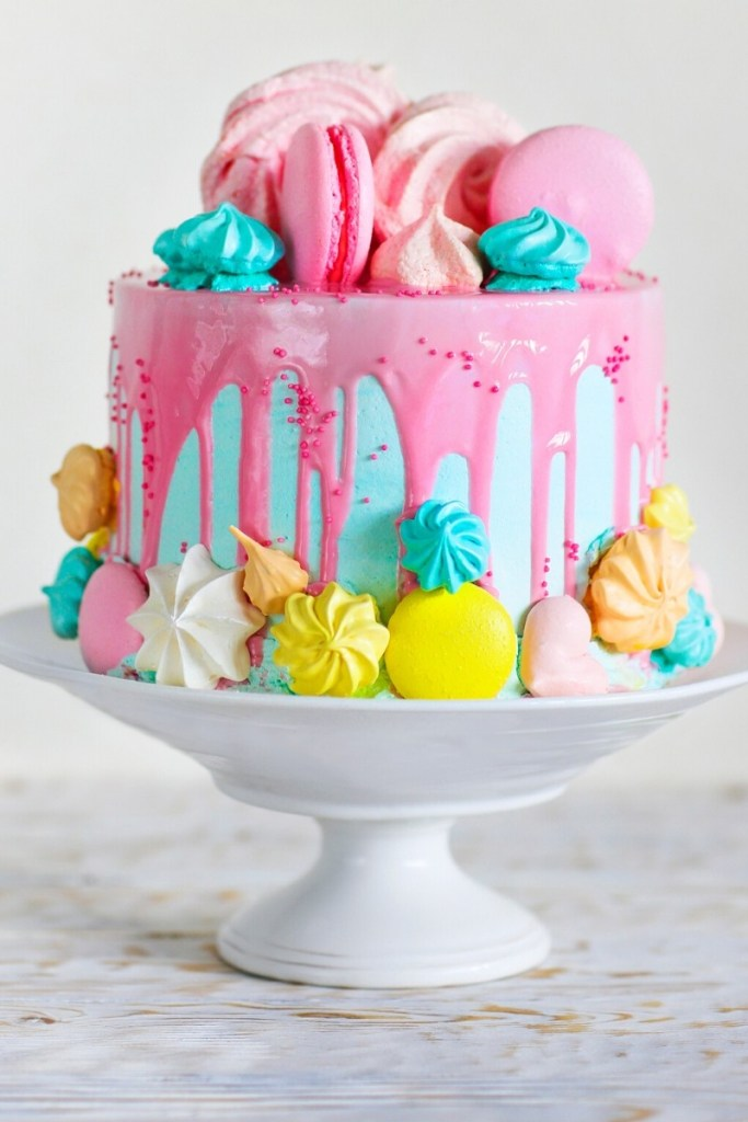 Birthday Cake Ideas for Girls - Pink Confection