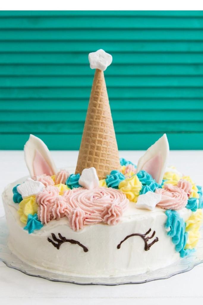 Birthday Cake Ideas for Girls - Unicorn Cake