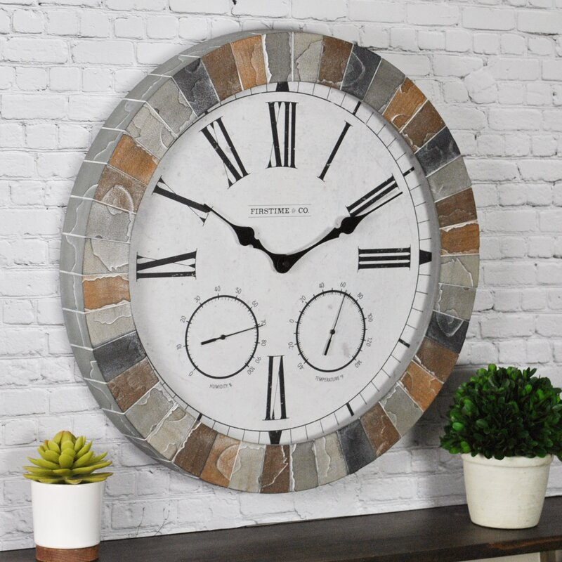 Garden Outdoor Wall Clock