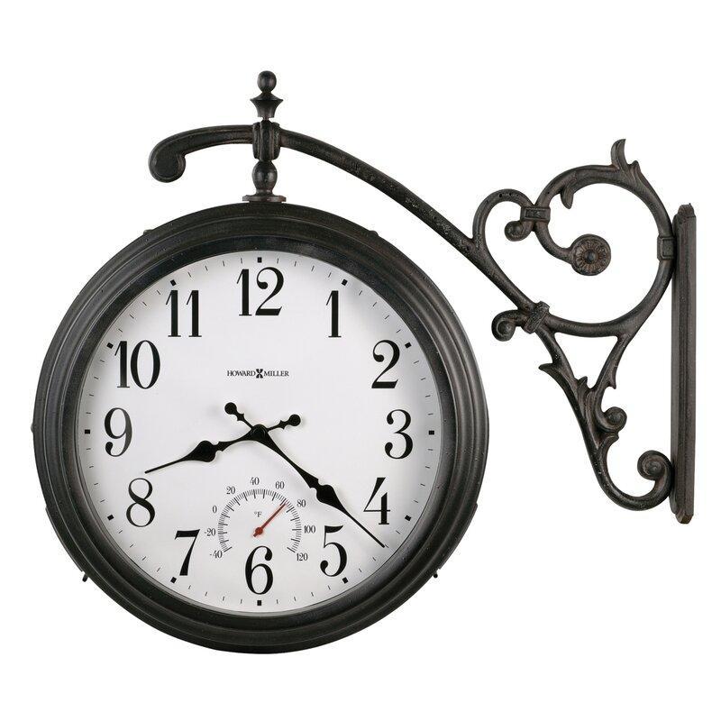 Howard Miller Luis Quartz Indoor / Outdoor Wall Clock