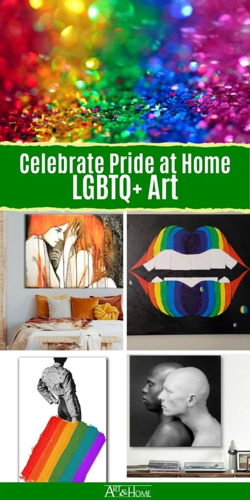 Share this LGBTQ+ Art on Printerest