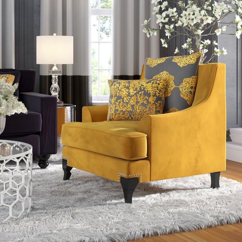 Lyla Gold Upholstery Armchair