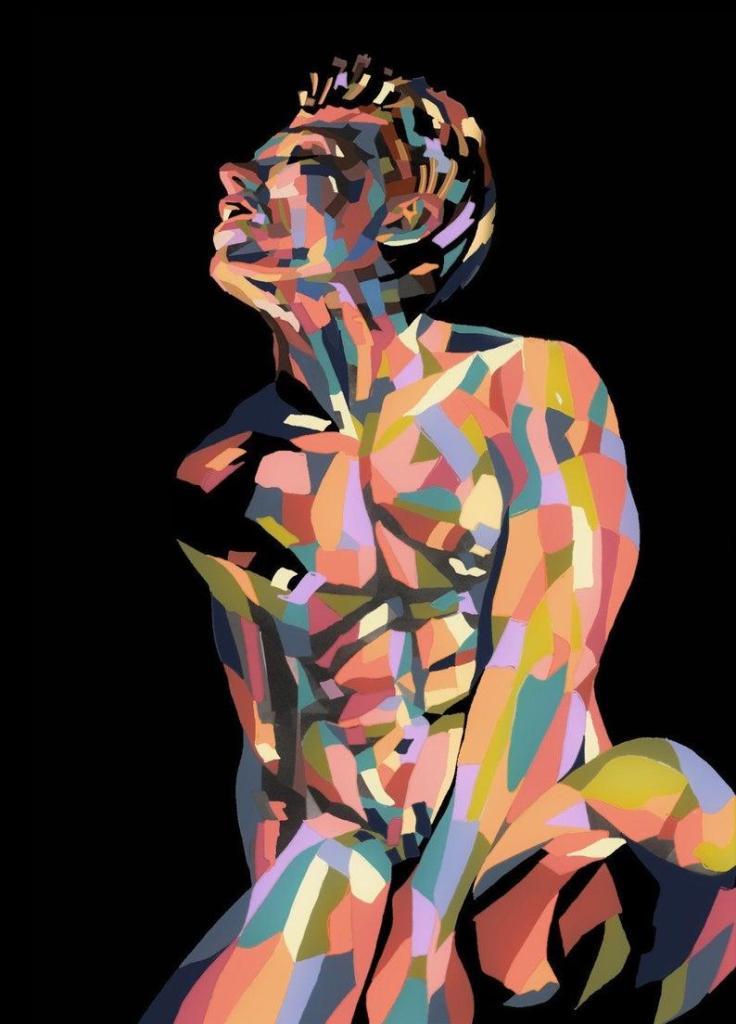 Nude Male Pride Study