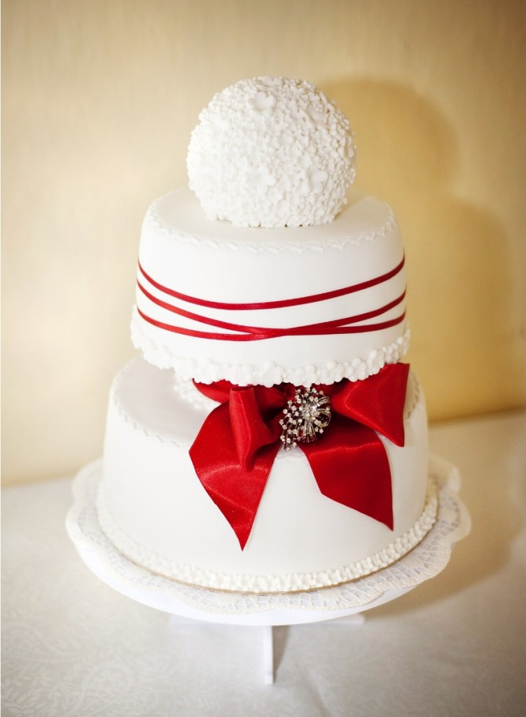 Snowball Wedding Cake