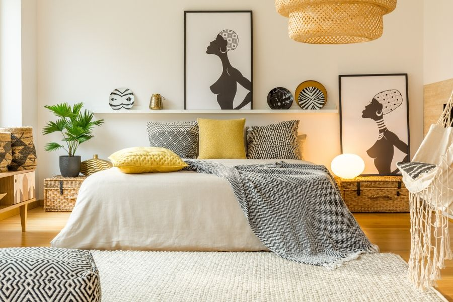 Setting The Mood How To Pick Bedroom Wall Art Art Home