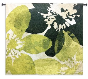 Bloomer Tile VI | Wall Tapestry | 44 x 44