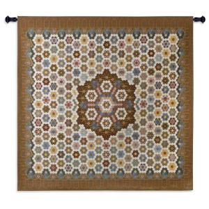 Honeycomb Quilt Tapestry Wall Hanging