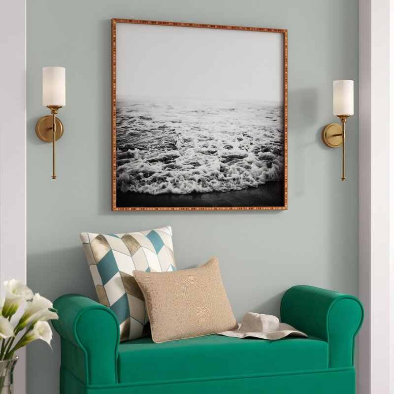 Infinity Framed Photograph Print on Wood