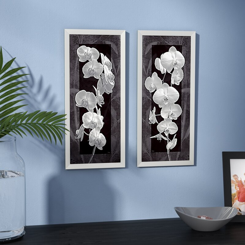 Orchid Opulence I Framed Graphic Art Set