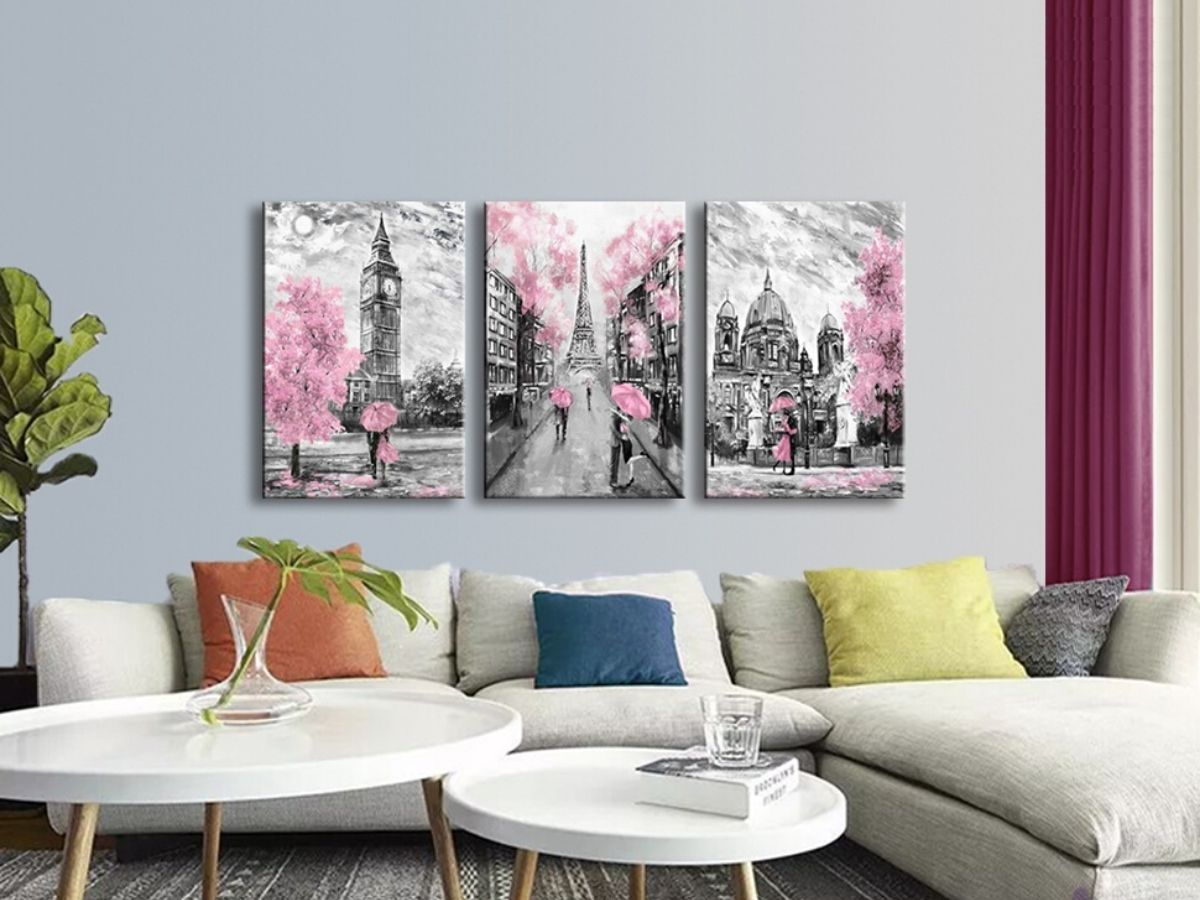 Finding Pink Art For Your Walls Pink Wall Art Art Home