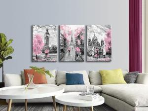 Add a Pop of Pink to Your Home with Pink Wall Art